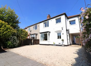 Thumbnail 4 bed semi-detached house for sale in Grantham Avenue, Scartho, Grimsby