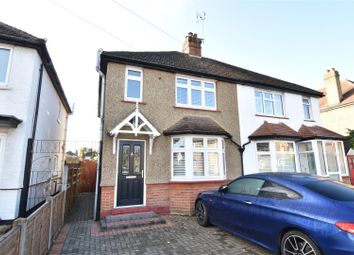 Thumbnail 3 bed semi-detached house for sale in Thornhill Road, Tolworth, Surbiton