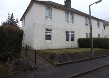 Thumbnail 1 bed flat to rent in John Morton Crescent, Darvel, East Ayrshire