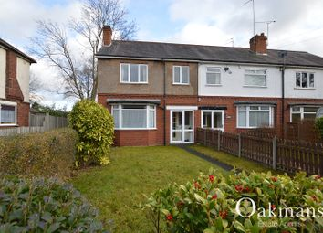 Thumbnail 3 bed end terrace house to rent in Grove Road, Kings Heath, Birmingham, West Midlands.