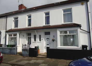 Thumbnail 4 bedroom end terrace house for sale in Lionel Road, Canton, Cardiff