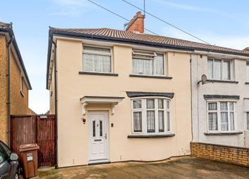Thumbnail 3 bed semi-detached house for sale in Feltham, Middlesex