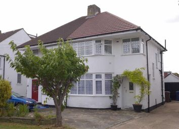Thumbnail 3 bed semi-detached house for sale in Curzon Avenue, Stanmore, Middlesex