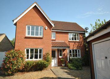 Thumbnail 4 bedroom detached house for sale in Vane Close, Dussindale, Norwich