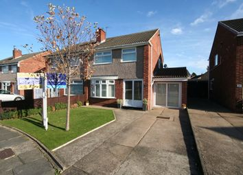 Thumbnail 3 bedroom semi-detached house for sale in Ricknall Close, Middlesbrough