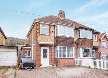 Thumbnail 3 bed semi-detached house for sale in Manor Road, Dover, England, Kent