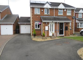 Thumbnail 2 bed semi-detached house for sale in Jenner Crescent, Kingsthorpe, Northampton