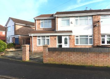 Thumbnail 4 bed semi-detached house for sale in Redwood Way, Kirkby, Liverpool