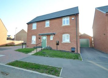 Thumbnail 3 bed detached house for sale in Buckby Drive, Burton Latimer, Northamptonshire