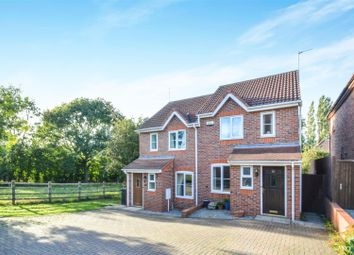 Thumbnail 2 bedroom semi-detached house to rent in Cawdell Drive, Long Whatton, Loughborough