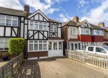 Thumbnail 3 bed end terrace house for sale in Church Hill Road, Cheam, Sutton
