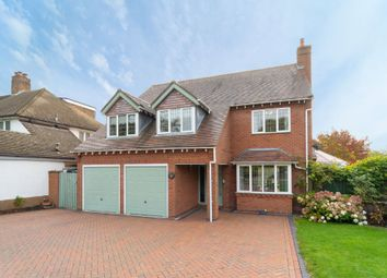 Thumbnail 4 bed detached house for sale in Oldwich Lane West, Chadwick End, Solihull