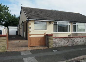 Thumbnail 2 bed semi-detached bungalow for sale in Oak Avenue, Bare, Morecambe