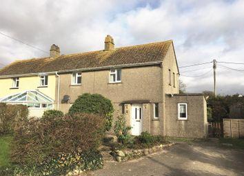 Thumbnail 3 bed semi-detached house for sale in Prospect Close, Ashton, Helston