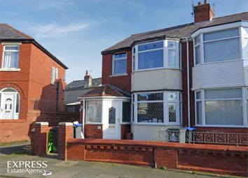 3 bed semi-detached house for sale in Finsbury Avenue, Blackpool, Lancashire FY1