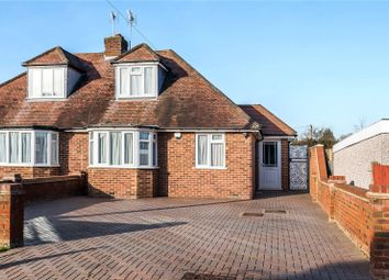 Thumbnail 3 bed semi-detached bungalow for sale in Heather Way, Stanmore, Middlesex