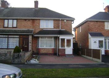 Thumbnail 3 bed end terrace house to rent in Broomhall Crescent, Acocks Green, Birmingham.