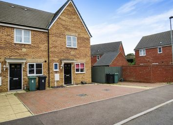 Thumbnail 2 bed end terrace house for sale in Tilman Drive, Peterborough