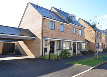 Thumbnail 3 bed semi-detached house for sale in Selkirk Drive, Giffard Park, Milton Keynes