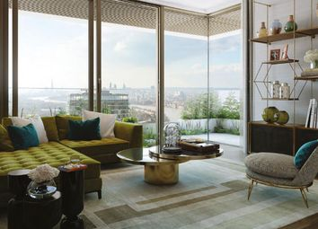 Thumbnail 1 bed flat for sale in Wardian, West Tower, London