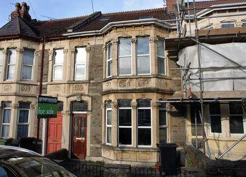 Thumbnail 4 bed terraced house for sale in Kensington Park Road, Brislington, Bristol