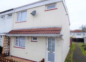 Thumbnail 3 bed end terrace house for sale in Tairfelin, Bridgend