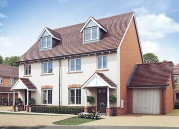 "Thumbnail 3 bed semi-detached house for sale in ""The Crofton - Plot 9"" at Naishes Lane, Crookham Park, Church Crookham"