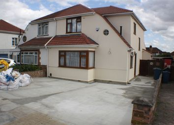 Thumbnail 3 bedroom semi-detached house to rent in Mollison Way, Edgware, Middlesex, uk