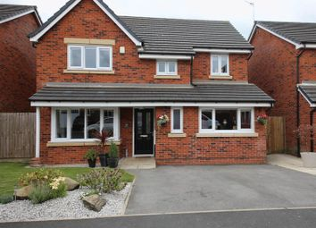 Thumbnail 4 bed detached house for sale in Meadow Brook, Pemberton, Wigan