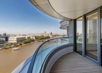 Thumbnail 3 bedroom flat to rent in Tower One, The Corniche, 23 Albert Embankment, London