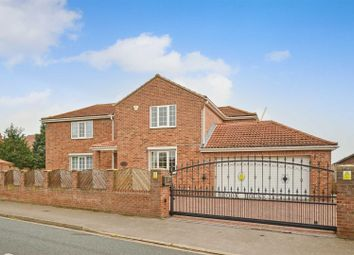 Hillam Road, Gateforth, Selby YO8. 4 bed detached house for sale