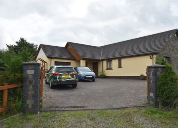 Thumbnail 4 bed detached bungalow for sale in Saron Road, Pentre-Cwrt, Llandysul