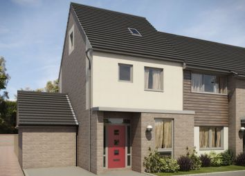"Thumbnail 3 bed semi-detached house for sale in ""Woodstone"" at Whitworth Park Drive, Houghton Le Spring"