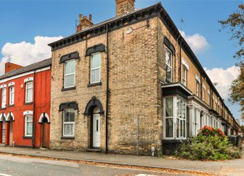 Thumbnail 4 bed end terrace house for sale in Boulevard, Hull