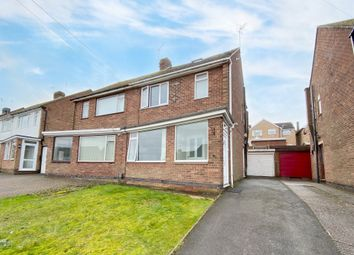 Thumbnail 4 bed semi-detached house for sale in Wellesbourne Road, Mount Nod, Coventry
