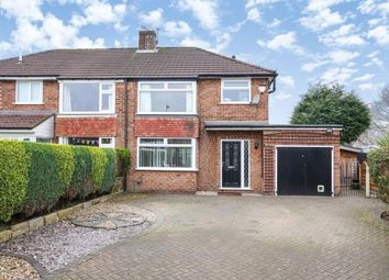 Thumbnail 3 bed semi-detached house for sale in Balmoral Grove, Hazel Grove, Stockport, Cheshire