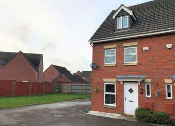 Thumbnail 3 bed semi-detached house for sale in Brigantine Drive, St. Brides Wentlooge, Newport