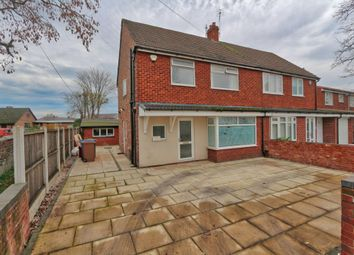 Thumbnail 3 bed semi-detached house for sale in Longfield Gardens, Cadishead, Manchester