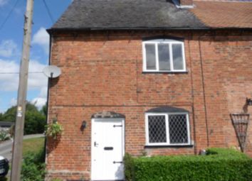 Thumbnail 3 bed end terrace house to rent in Main Street, Snarestone, Swadlincote