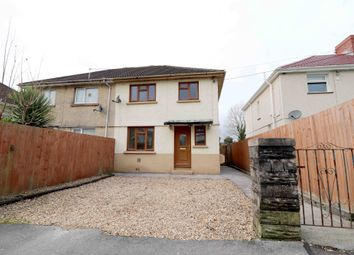 Thumbnail 3 bed semi-detached house for sale in Heol Y Coed, Swansea, West Glamorgan