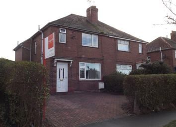 Thumbnail 3 bed semi-detached house for sale in Rigby Avenue, Crewe, Cheshire