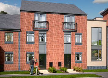 "Thumbnail 4 bed town house for sale in ""The Dawlish "" at Leek Road, Hanley, Stoke-On-Trent"