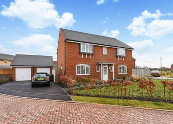 Thumbnail 4 bed detached house for sale in Chalder Way, Chichester