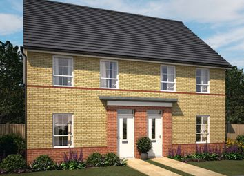"Thumbnail 3 bed end terrace house for sale in ""Finchley"" at Knights Way, St. Ives, Huntingdon"