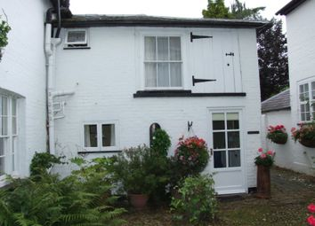 Thumbnail 1 bed mews house to rent in The Old Rectory, Ayot St Lawrence, Welwyn, Herts