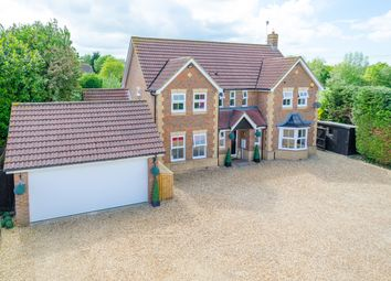 Thumbnail 4 bed detached house for sale in The Moor, Melbourn, Royston