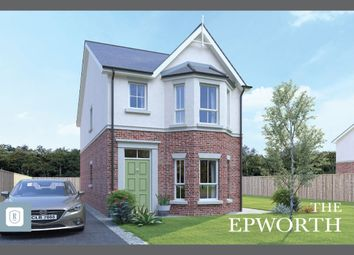 Thumbnail 3 bed detached house for sale in Rowanvale, Green Road, Bangor