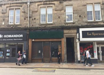 Thumbnail Commercial property for sale in High Street, Kirkcaldy