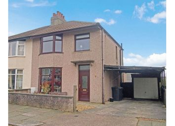 Thumbnail 3 bed semi-detached house for sale in Laureston Avenue, Heysham, Morecambe
