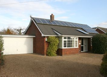 Thumbnail 2 bed detached bungalow for sale in Hargham Road, Shropham, Attleborough